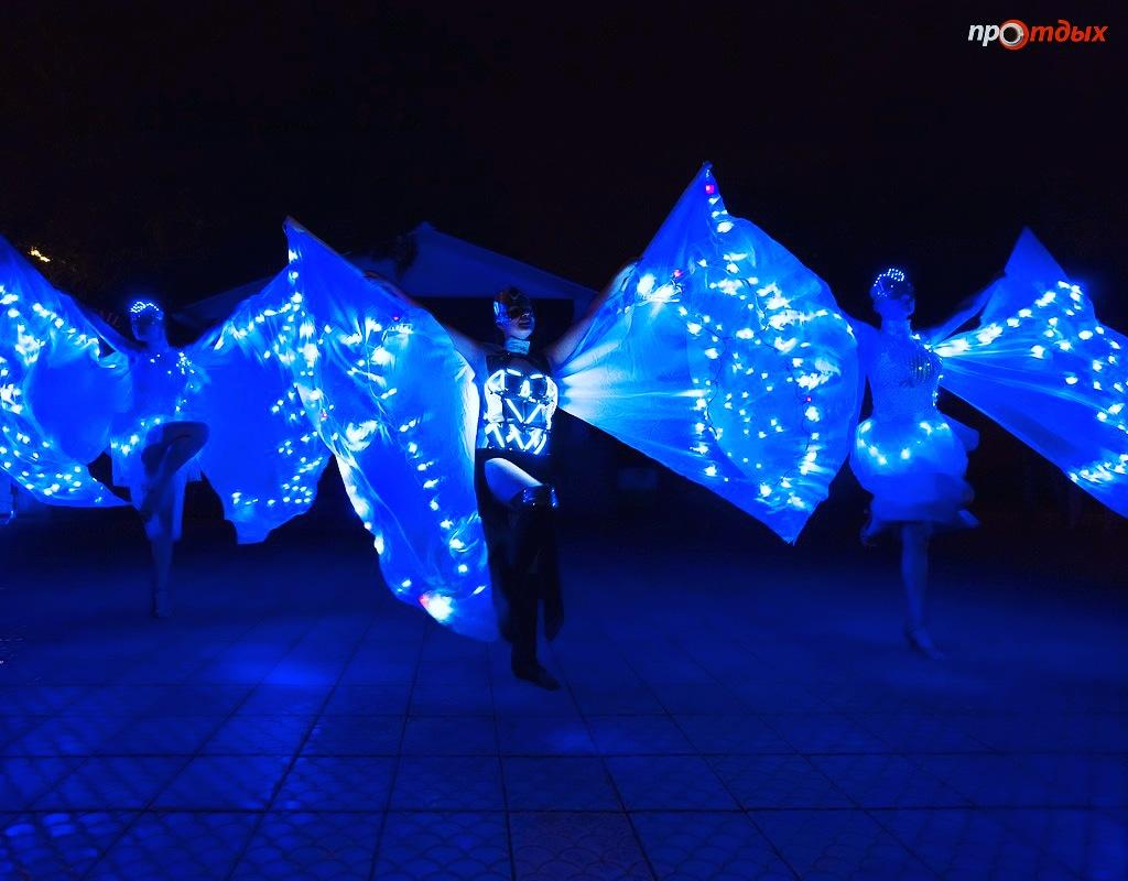 Световое шоу A-PIX в Самаре