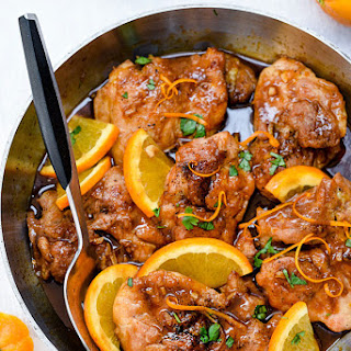 Asian Glazed Orange Chicken