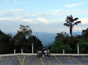 Photo: View from Bukit Fraser/Fraser's Hill, Malaysia.