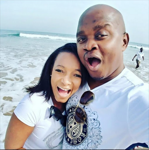 Palesa Madisakwane and Nico Matlala. Picture credit: Instagram.