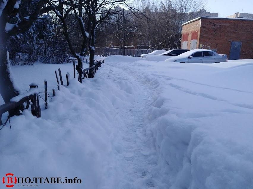 Полтаву вхурделило: ранок у місті після сильної негоди (ФОТО, ВІДЕО), фото-15
