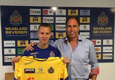 Julian Michel signe à Waasland-Beveren pour trois saisons