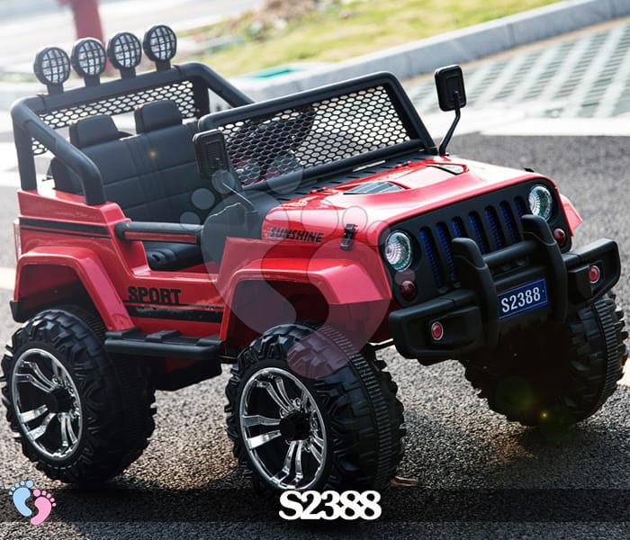 Ô tô điện địa hình S2388 4 động cơ, bánh cao su 4
