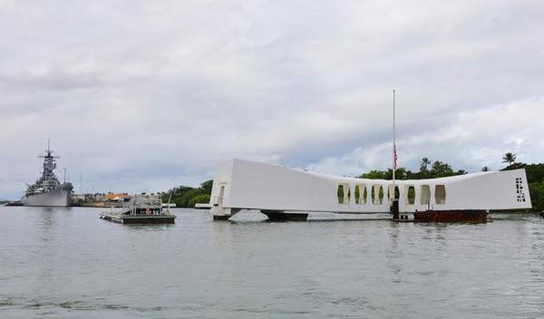 夏威夷。2009歐胡島蜜月。珍珠港.密蘇里號戰艦博物館(岡田准一 & 永遠的0)