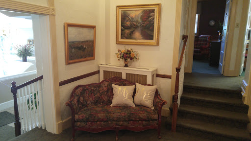 Seating in the parlor