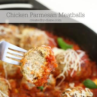 Chicken Parmesan Meatballs Recipes