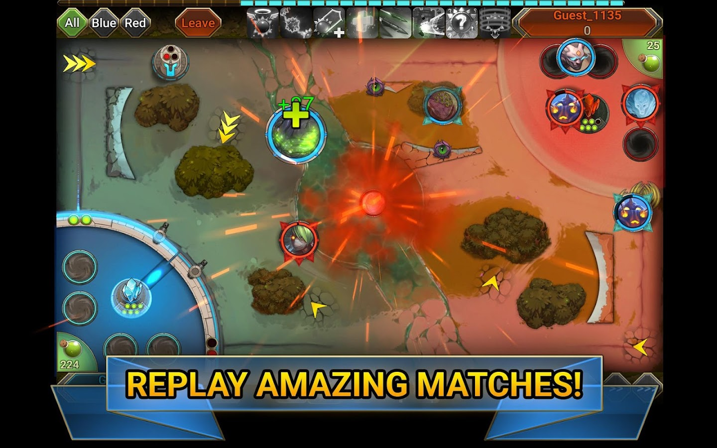 BAClash - MOBA- screenshot
