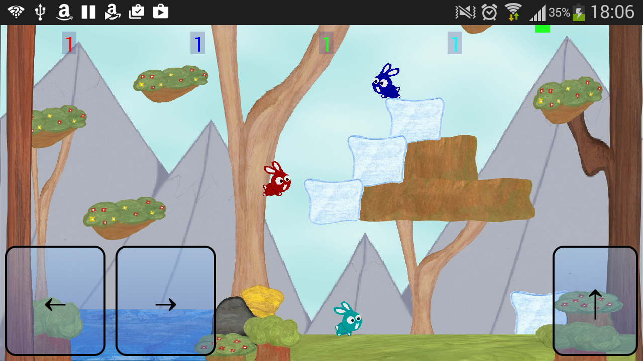 Bumping Bunnies - Multiplayer- screenshot