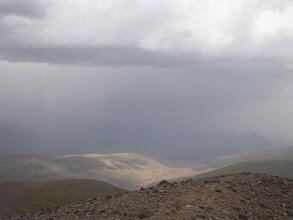 Photo: Kurumdy, eminence 4276, view to East Kyzyl-Sy valley (NE)