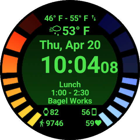 Omega Watch Face Paid Unlocker- screenshot