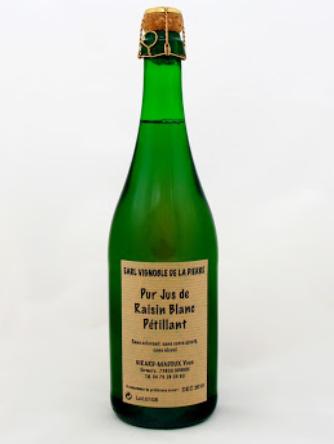 Sparkling Juice from Jacquère - Savoie Wine - Chignin - Vignolbe de la Pierre