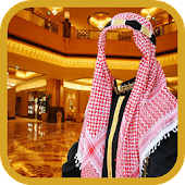 Arab Man Suit Photo Maker