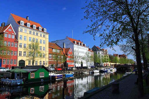 Relax as you stroll along the many canals of Copenhagen.