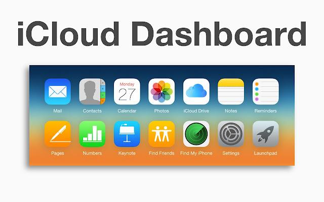 iCloud Dashboard