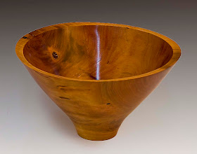 "Photo: Gary Guenther - Bowl - 5"" x 7"" - Cherry"