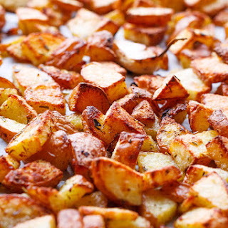 Garlic Cajun Roasted Potatoes Recipe
