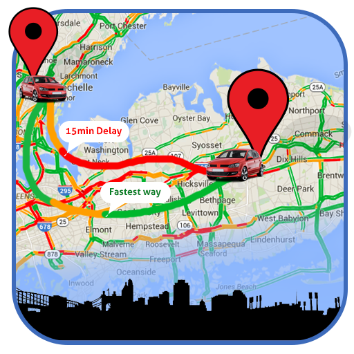 Traffic Near Me: Maps, Navigation app (apk) free download for Android/PC/Windows