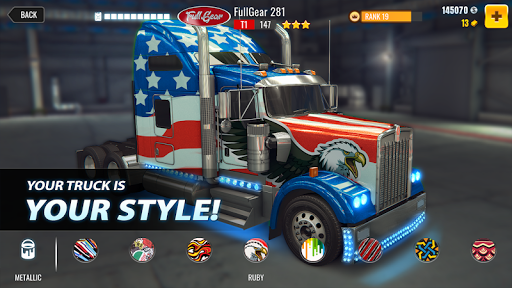 Big Truck Drag Racing screenshot 2