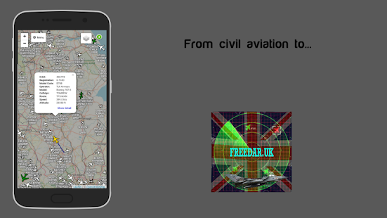 Download Freedar.uk | Live Aircraft Tracker For PC Windows and Mac apk screenshot 2