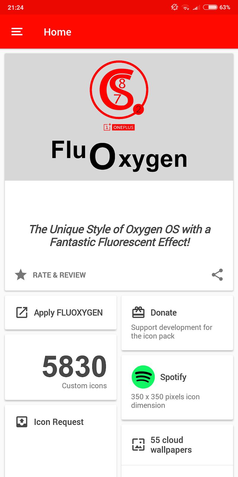 FLUOXYGEN - ICON PACK Screenshot 7