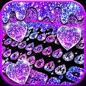 Galaxy Drop Heart Keyboard Theme icon
