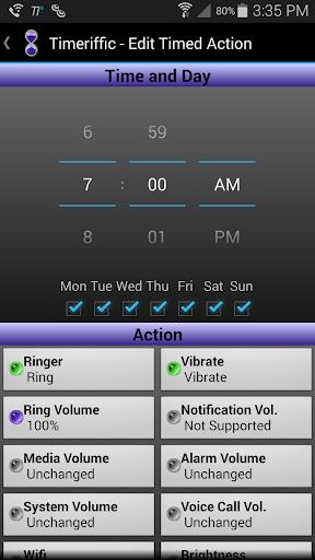 Timeriffic screenshot 13
