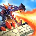Dragon defender: Epic dragon war icon