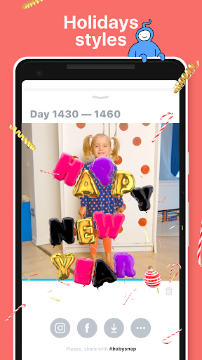 Baby Snap: Family video diary for modern parents - screenshot