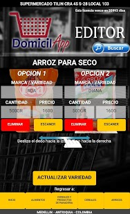 DomicilAPP Editor - náhled
