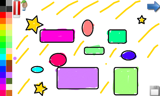 Coloring Shapes for Toddlers - screenshot thumbnail
