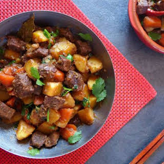 Chinese Spiced Beef And Potato Stew.