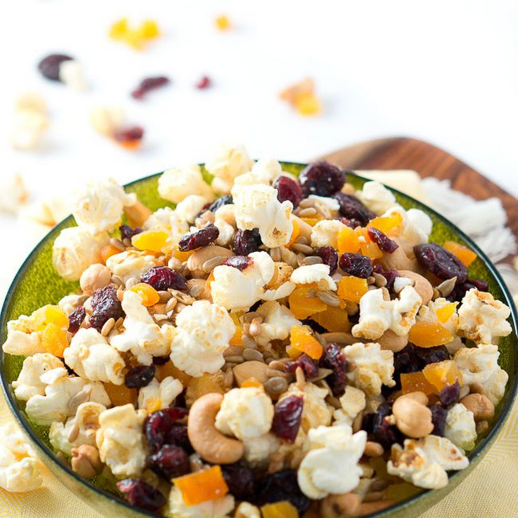 Healthy Popcorn Trail Mix Recipe   Yummly
