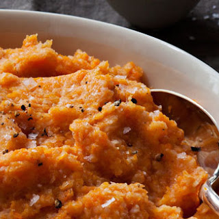 Carrot and Cauliflower Puree.