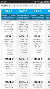 30 Days Diet Plan Builder- screenshot thumbnail