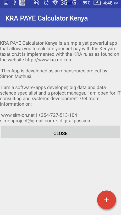 KRA PAYE Tax Calculator Kenya Android Apps on Google Play – Net Pay Calculator