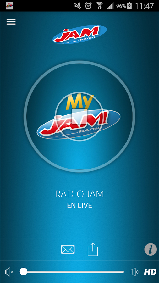 My Radio JAM- screenshot