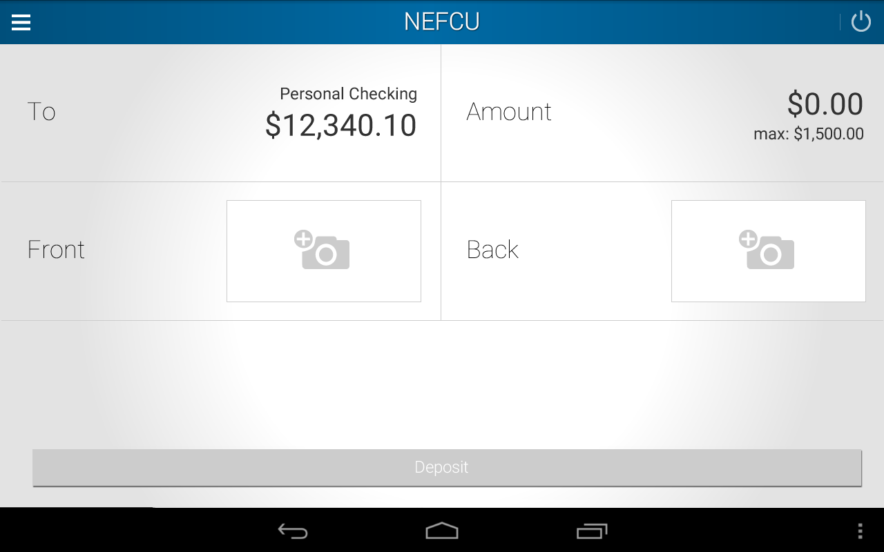 NEFCU- screenshot