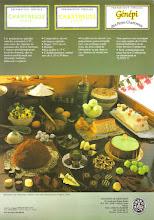 Photo: Boulangerie, pâtisserie ! Préparation spéciale Chartreuse Verte ou Jaune, il s'agit de concentré à 70% des liqueurs pour la restauration et à destination des professionnels... Belle présentation de spécialités culinaires à la Chartreuse. (merci à Manu)