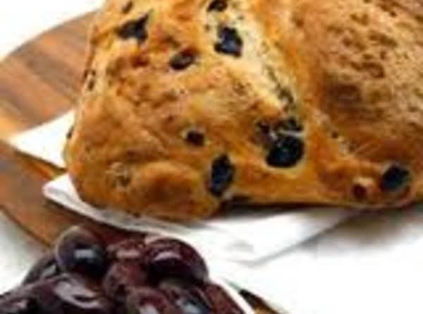 Delallo Calamata Bread (refrigerator Bread) Recipe