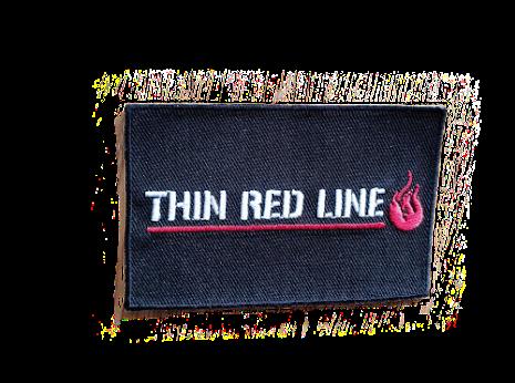 Thin Red Line Brodyrmärke Kardborre