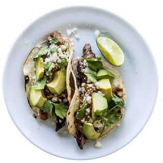 Tecate Skirt-Steak Tacos