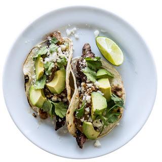 Tecate Skirt-Steak Tacos.