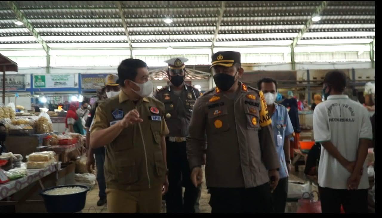 Lima Kecamatan Masuk Zona Merah, Plh Bupati dan Kapolres Rohul Pantau Sidang di Tempat Warga Tak Pakai Masker