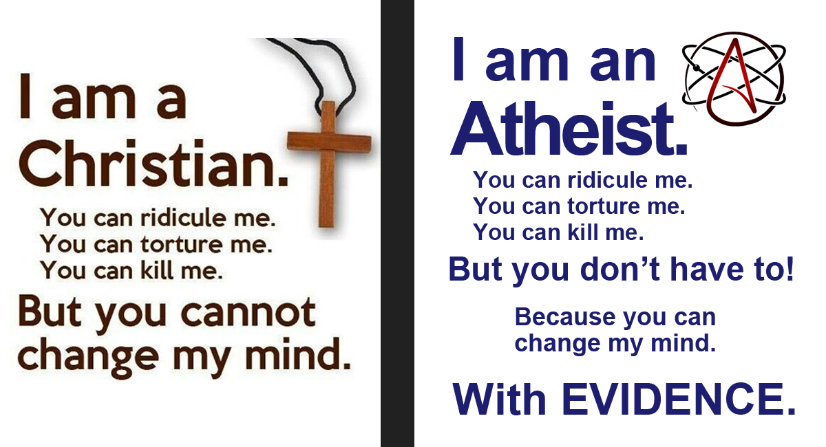 Image result for christianity and atheism