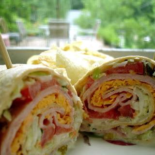 Crunchy Ham Wrap