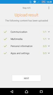 Xperia™ Transfer Mobile- screenshot thumbnail
