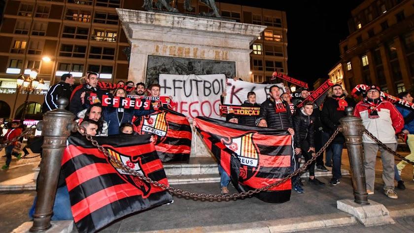 Aficionados del Reus.