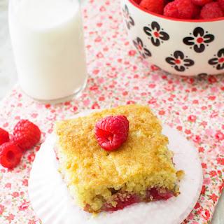 Raspberry Buttermilk Cake.