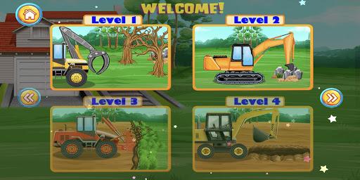 Construction Vehicles & Trucks - Games for Kids 1.8.1 screenshots 2