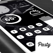 Pasty Pro - White Icon Pack